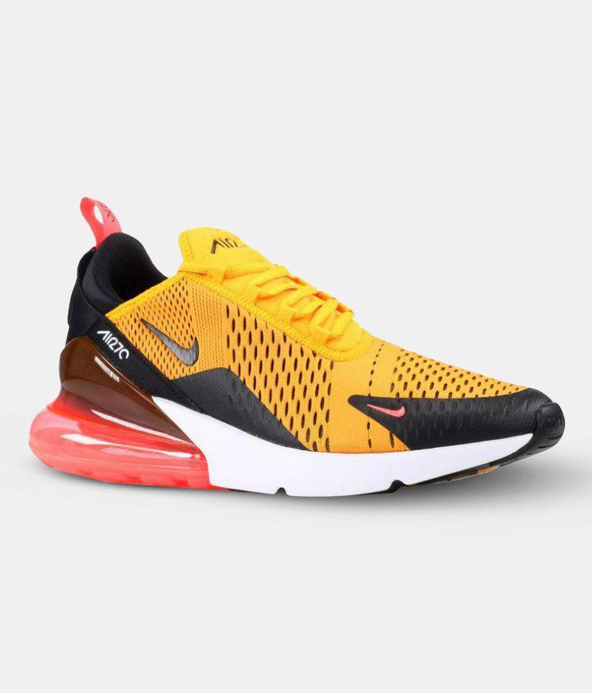 ff6430b01c Nike TIGER Yellow Running Shoes