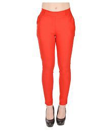 8d5c0f022 Red Color Womens Jeans, Jeggings & Tights: Buy Red Color Womens ...