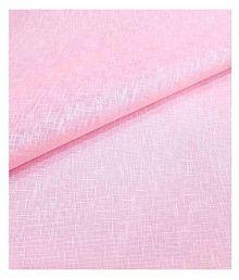 Siyaram Pink Linen Blended Unstitched Shirt pc
