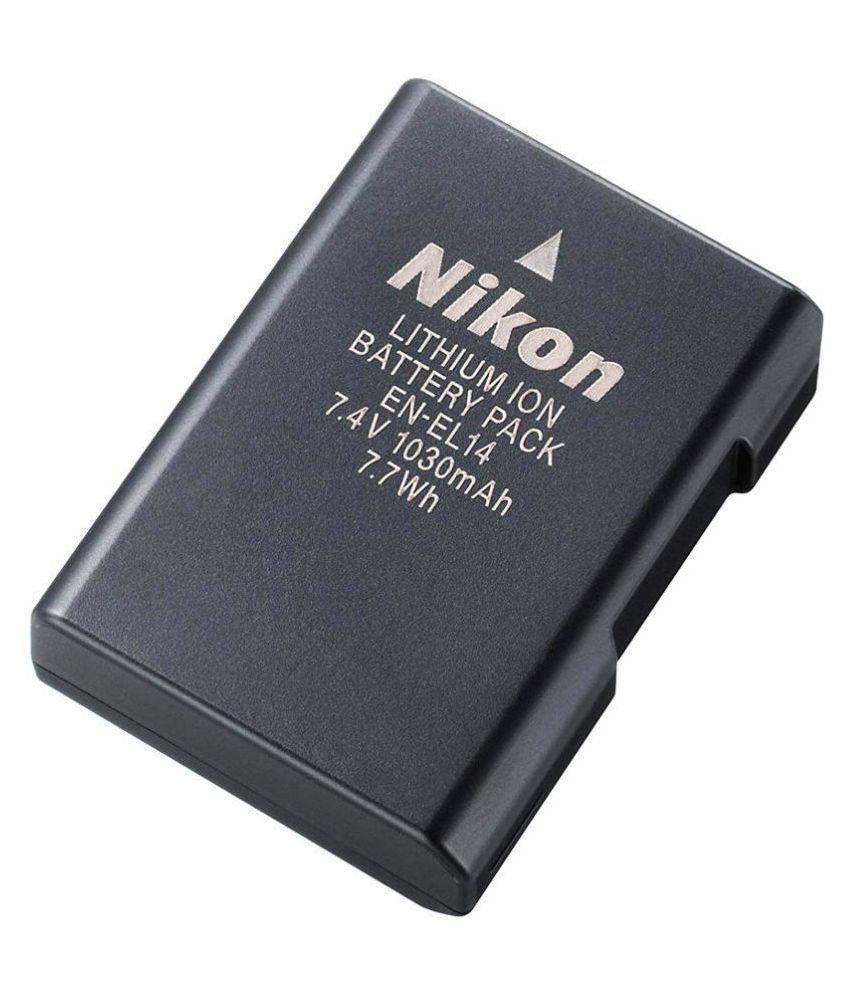 Nikon EN EL14 1030 mAh Rechargeable Battery 1