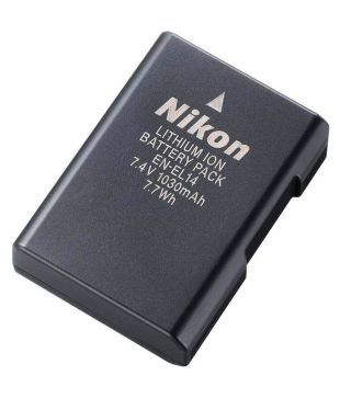 Nikon EN EL14 1030 mAh Rechargeable Battery 1