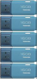 Toshiba U202A 16GB USB 2.0 Utility Pendrive Pack of 5