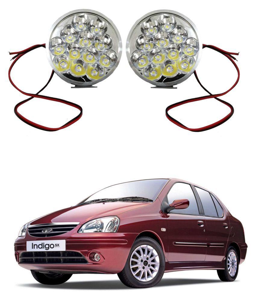Trigcars Tata Indigo Sx LED Fog Lamp + Free Car Bluetooth