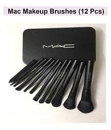 Makeup Fever Natural Foundation, Lip Tint Face Contour Brush Set Of 12 l
