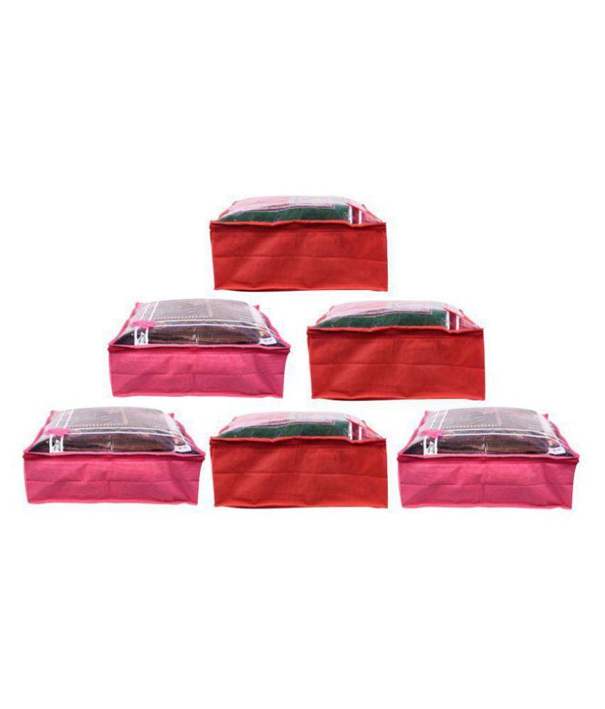 Bulbul Multi Saree Covers - 6 Pcs