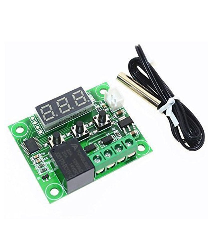 AptechDeals W1209 DC 12V -50 to +110 Temperature Sensor Control Switch Thermostat Thermometer