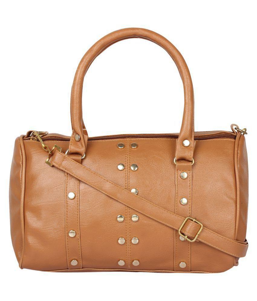 onland Brown P.U. Sling Bag