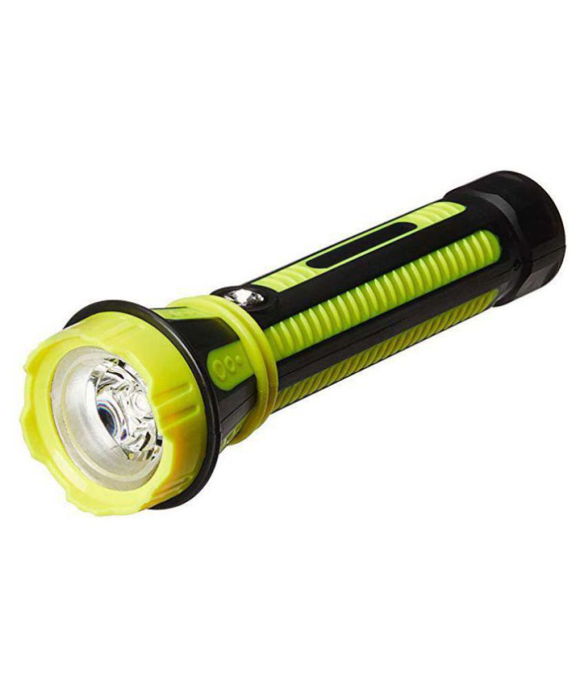 Emm Emm 3W Flashlight Torch Rechargeable JY-9090 - Pack of 1