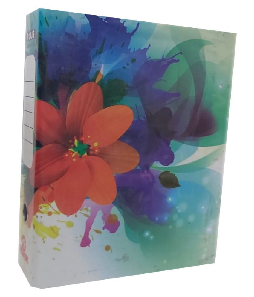 Helloperfect Premium Quality Paper Board Box File - Pack of 12