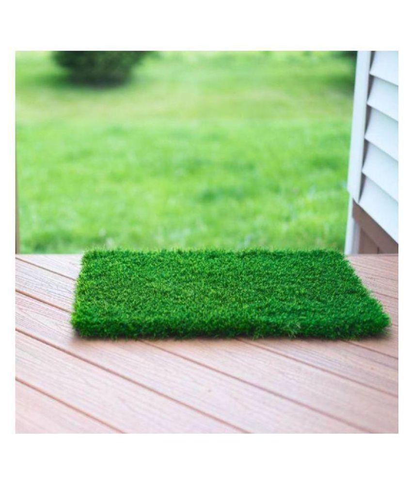 mauli Green Single Anti-skid Floor Mat