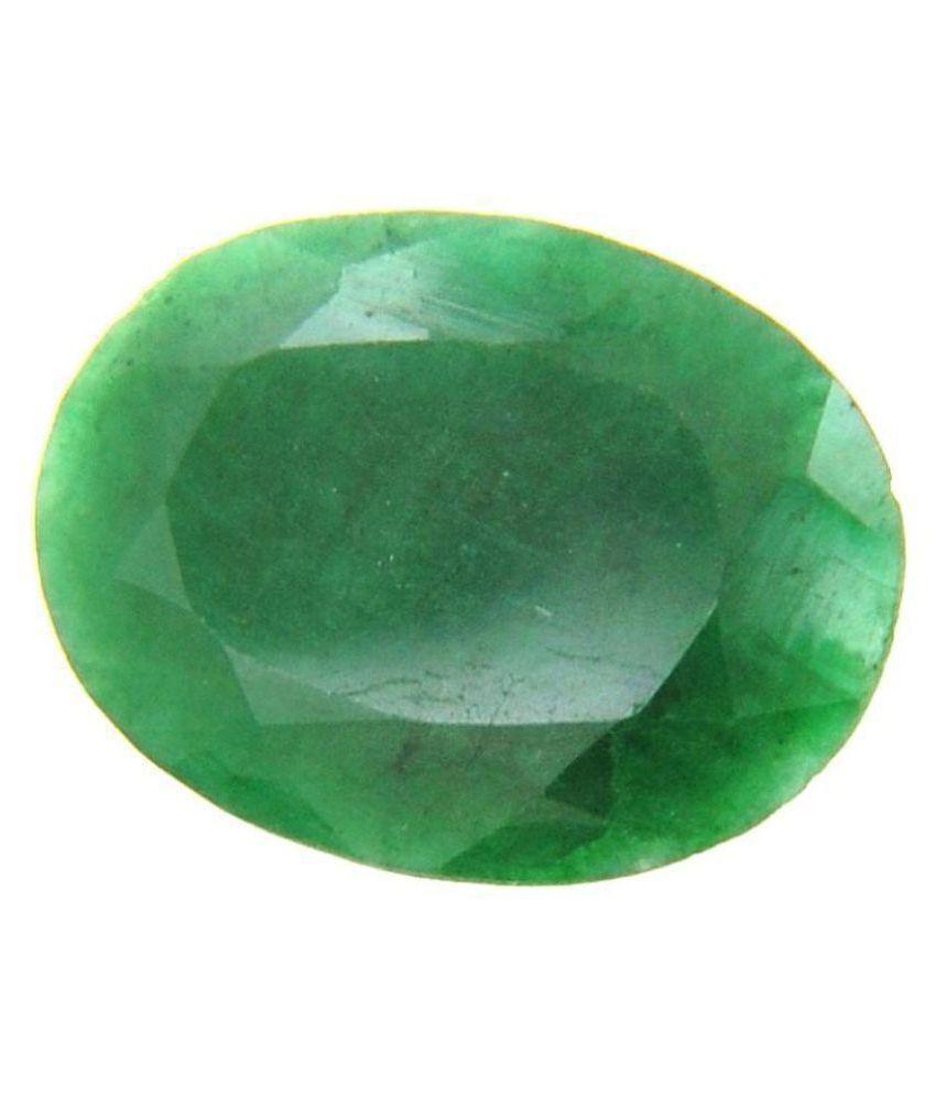 7.25 Ratti Natural Emerald Gemstone (Panna)