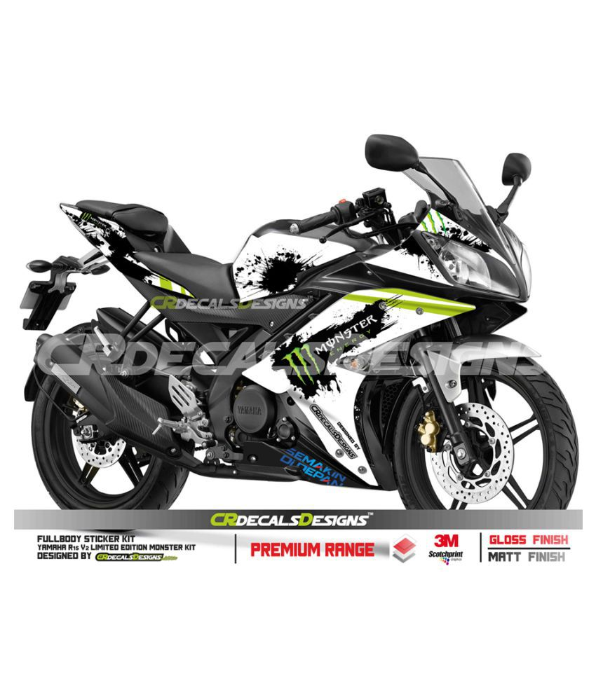 Yamaha R15 V2 Custom Decals Wrap Stickers Others In Car