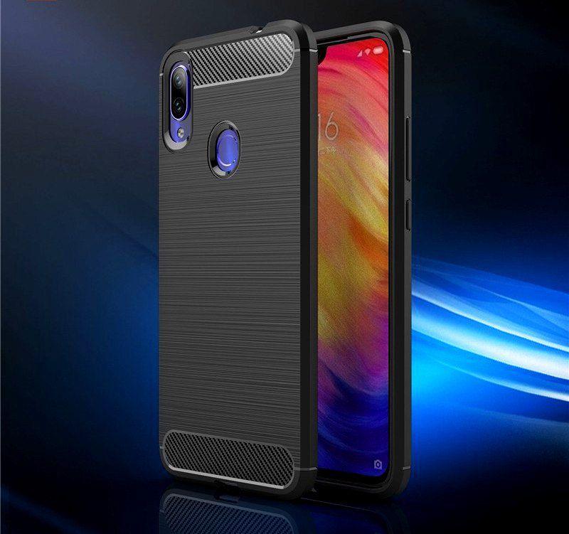 Xiaomi Redmi Note 7S Shock Proof Case Bracevor - Black