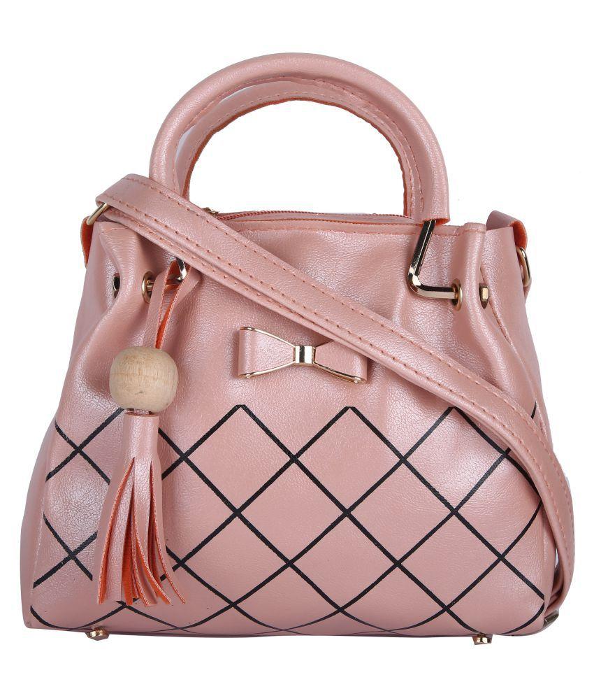 Hawai Pink Casual Messenger Bag