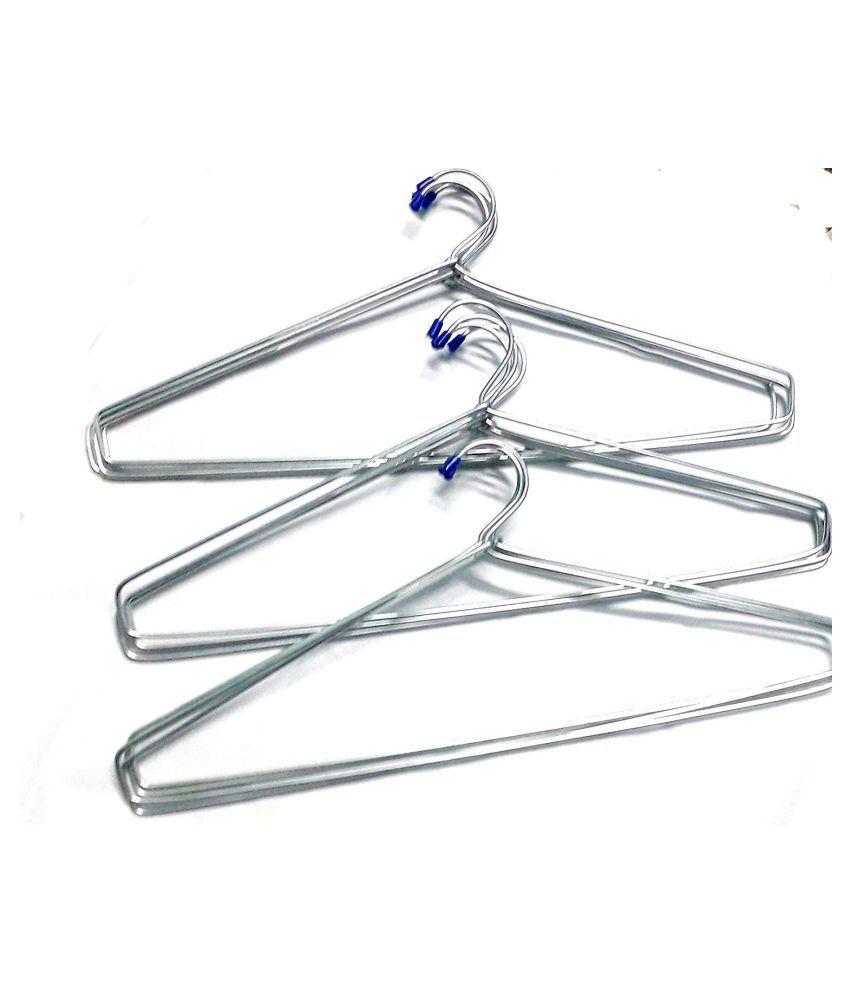 hanger-Steel Cloth Hanger (Heavy) - Pack of 12