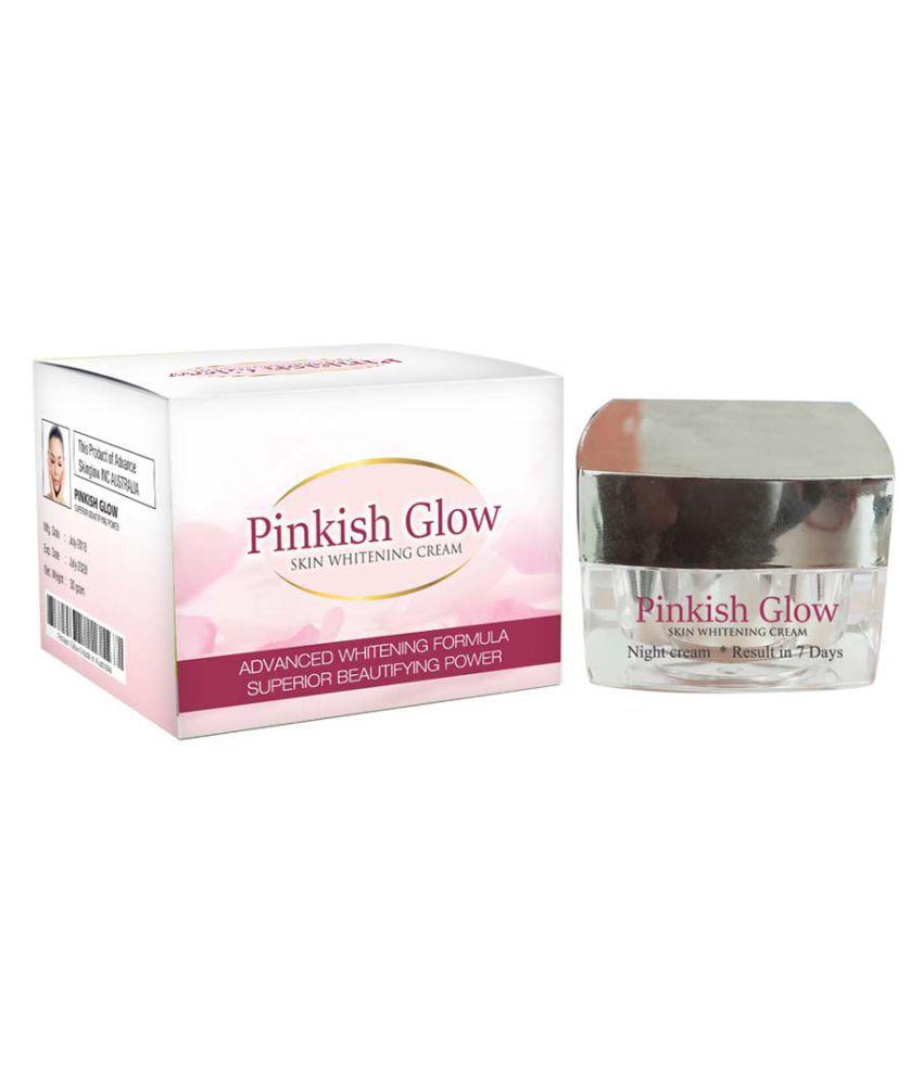 Pinkish Glow Skin Whitening Cream With Kojic and Vitamins 30g BB & CC Cream 30 gm