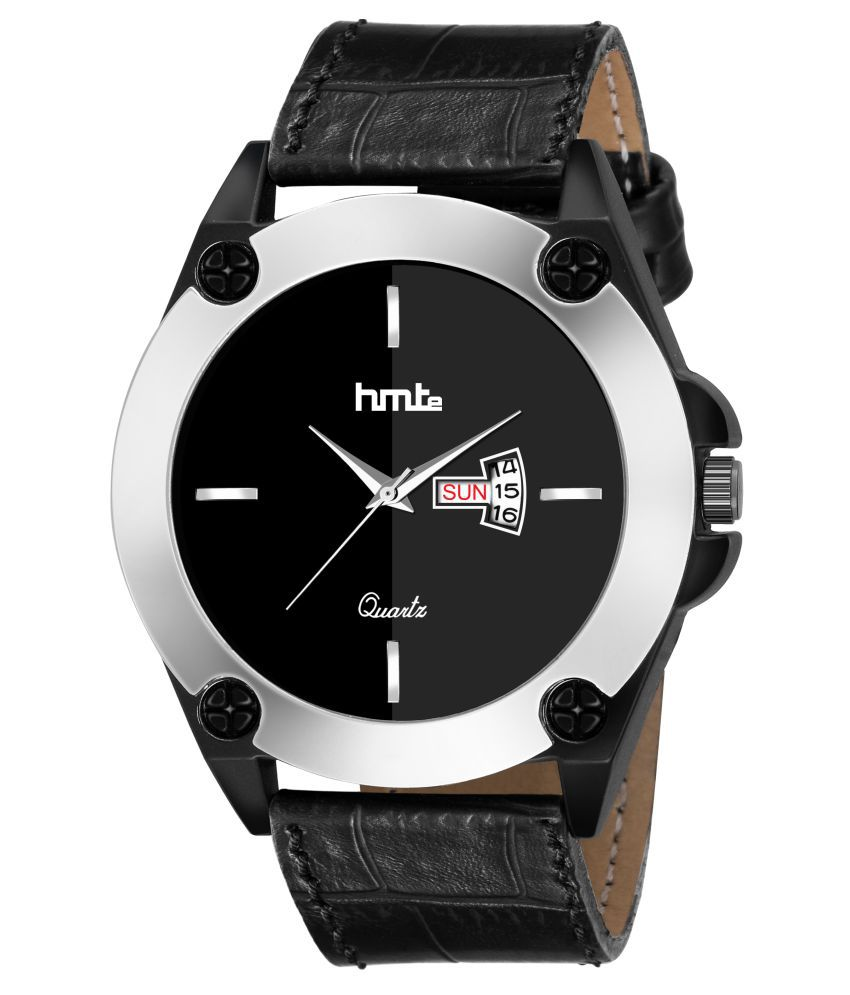HMTe HM-2252 Leather Analog Men's Watch