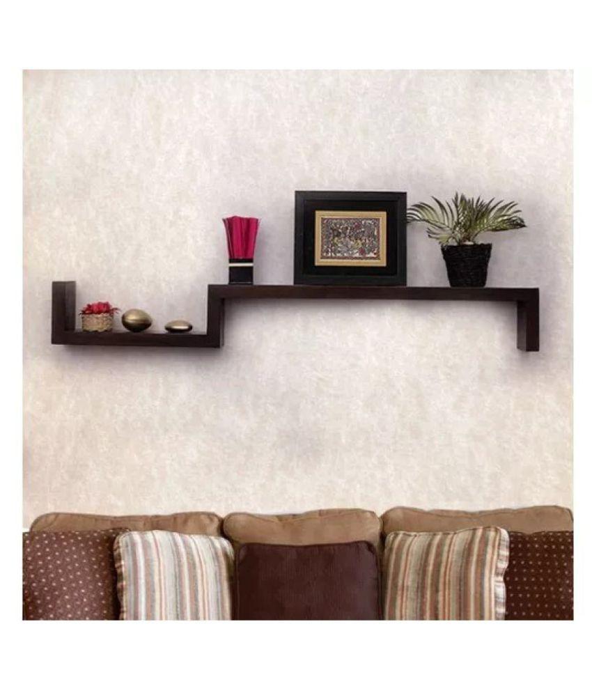 MDF Lujoso Wall Decor Rack Shelves