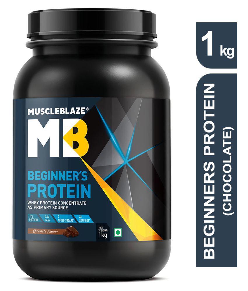 MuscleBlaze Beginners Whey Protein 1 kg