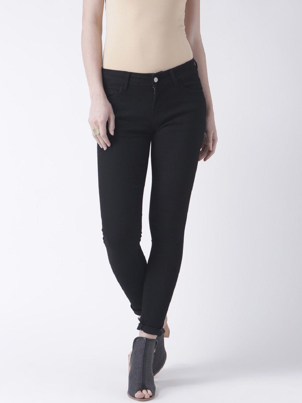 Fusion Beats Poly Cotton Jeans - Black