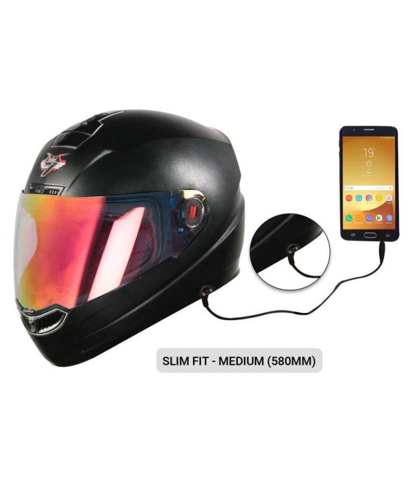 Steelbird 7Wings Hands Free - Full Face Helmet Black M