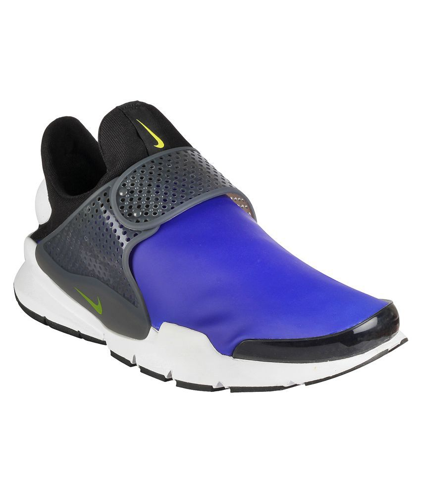 wholesale dealer 40055 fbaca Nike Sock Dart Se Blue Running Shoes