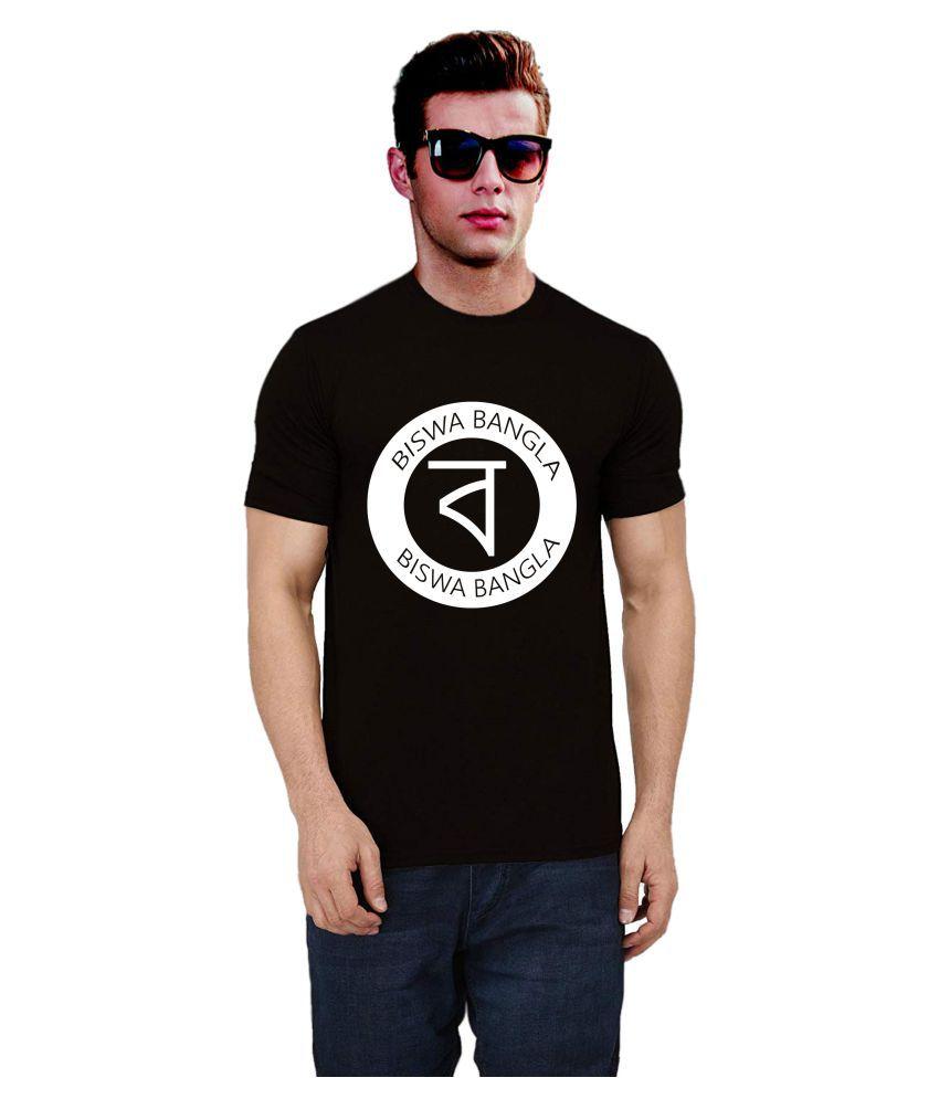 Ritzees 100 Percent Cotton White Printed T-Shirt