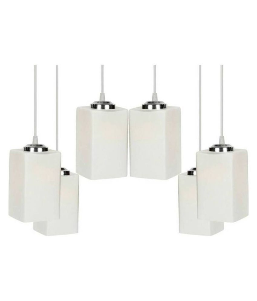 AFAST 7W Rectangle Ceiling Light 70 cms. - Pack of 6