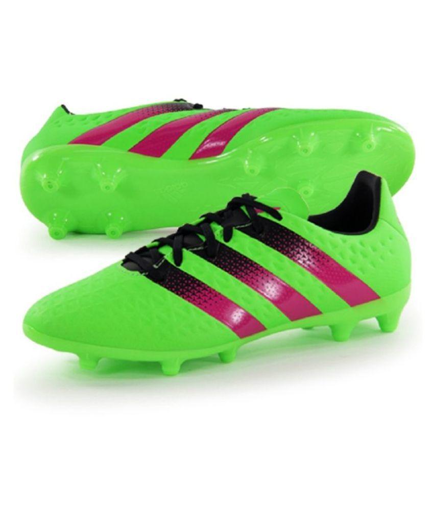quality design 700da d1d5b Adidas ACE 16.3 FG/AG Mens Football Shoes Adidas Studds Male Green