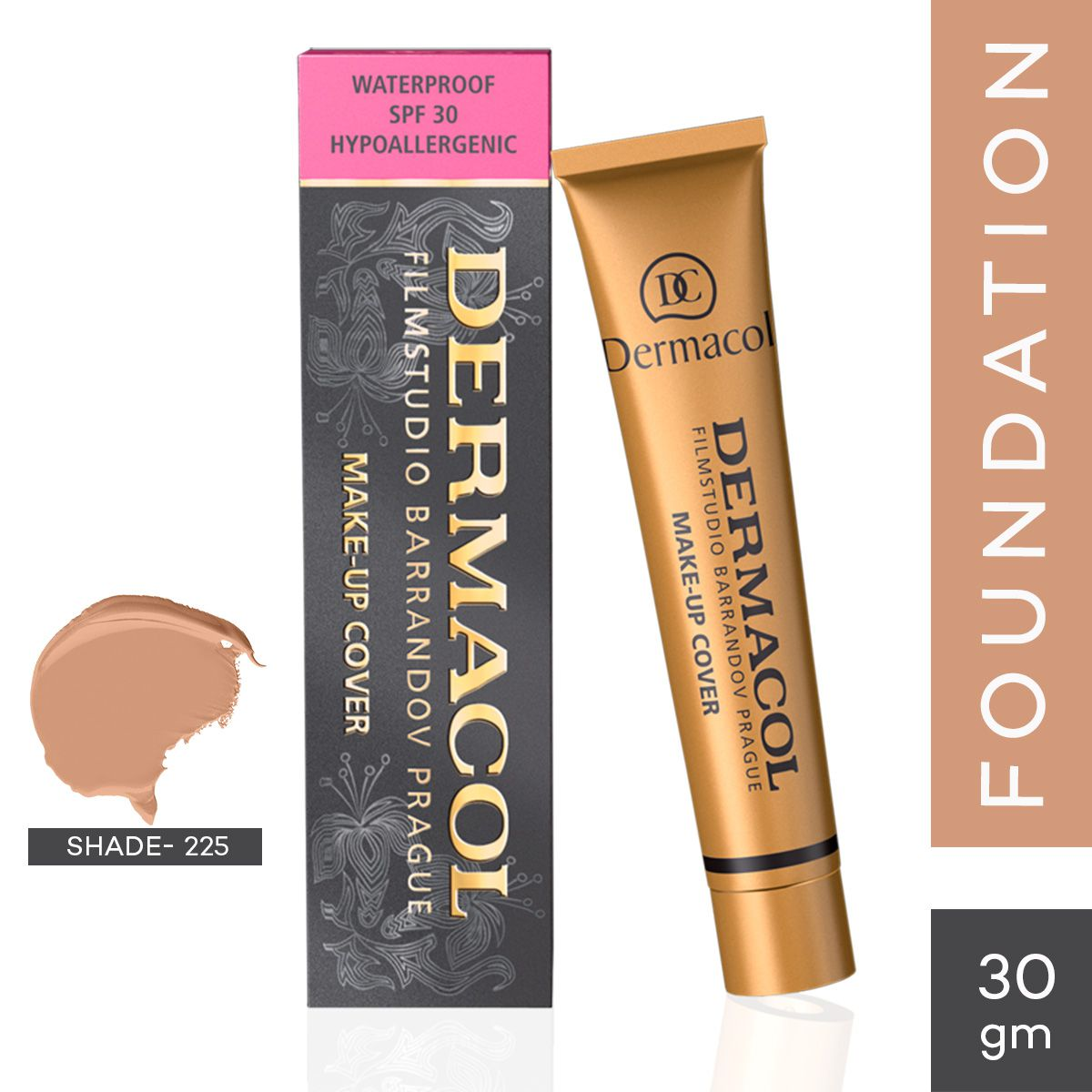 DERMACOL Cream Foundation Medium 30 g
