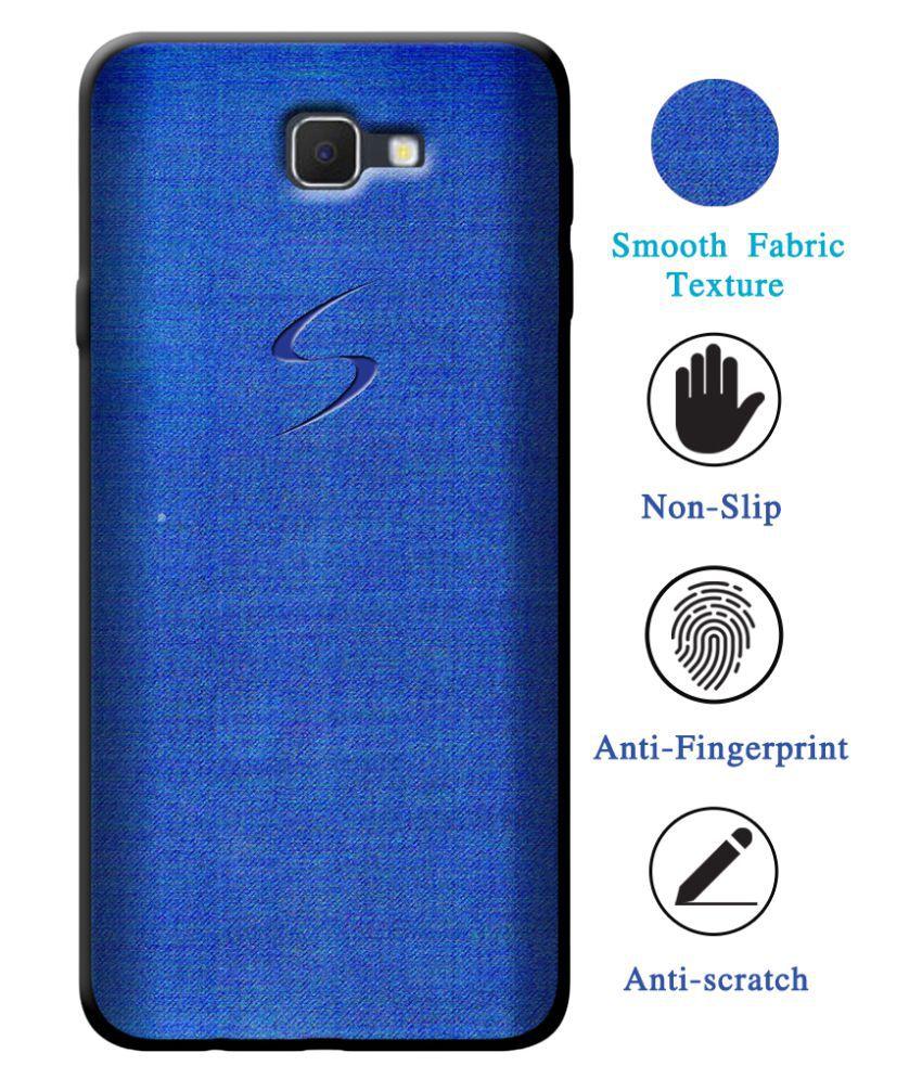 Samsung Galaxy On7 Prime Soft Silicon Cases Cellmate - Blue Fashion Case And Cover