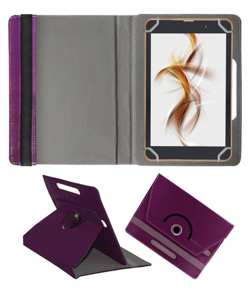 Iball Slide Nimble 4gf Flip Cover By FASTWAY Purple