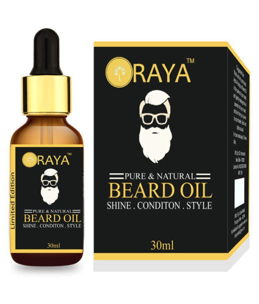 ORAYA Improved Beard Oil For Growth 30 ml