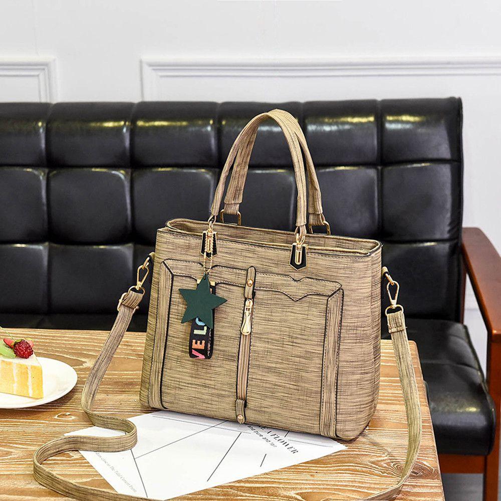 Pouches Bags and Storage for Your Fashion Needs Khaki Women Fashion Solid Star Crossbody Bag Messenger Bag Shoulder Bag Handbag KH