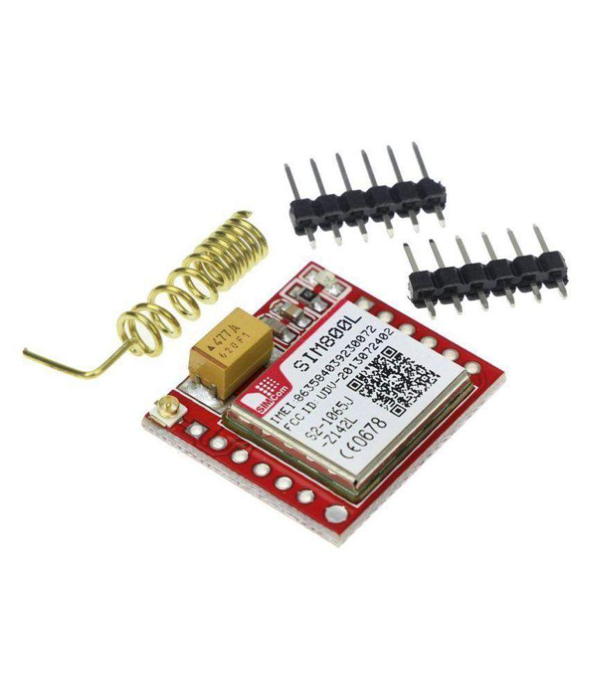 SIM800L GPRS GSM Module Micro SIM Card Core Board Quad-band TTL Serial Port