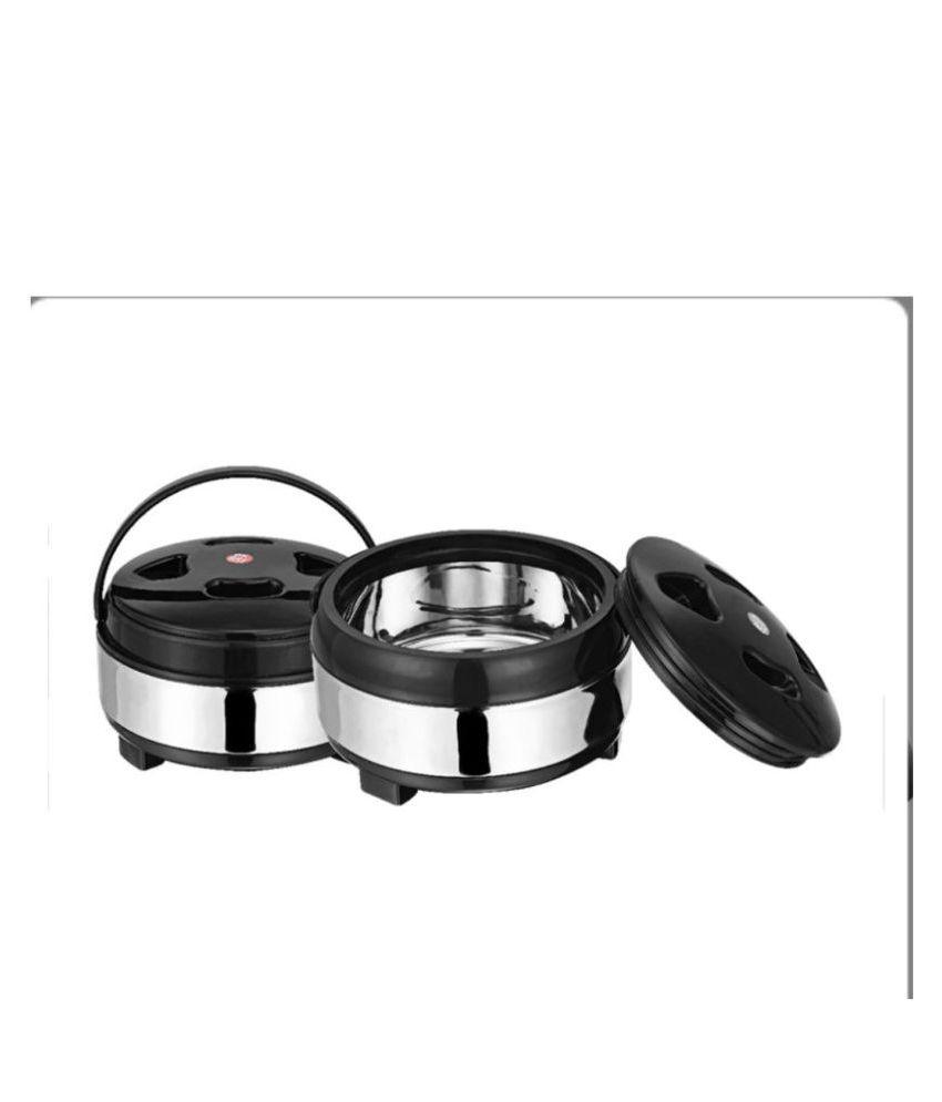 bartan hub Casserole set   2 Pcs