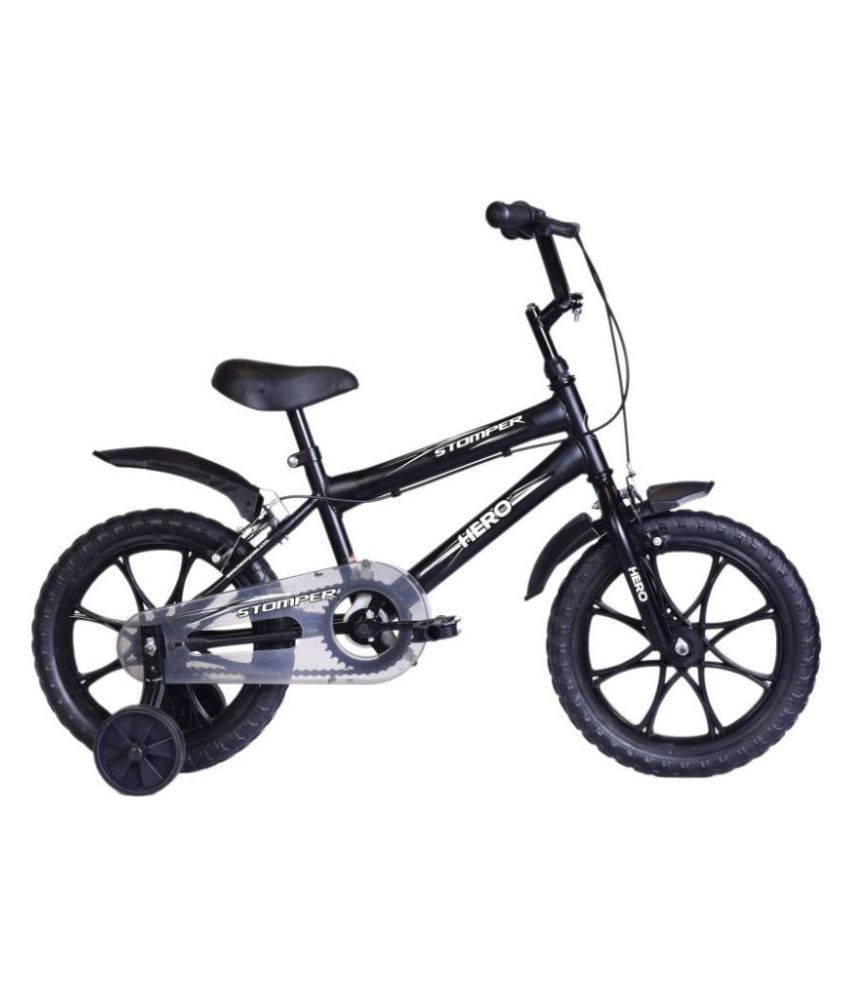 Hero Stomper Black 40.64 cm(16) Road bike Bicycle