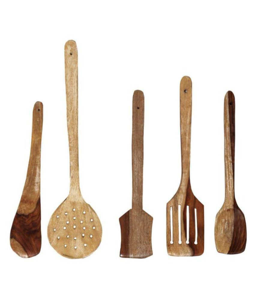 Desi karigar wooden skimmer 5 pc: buy online at best price in india