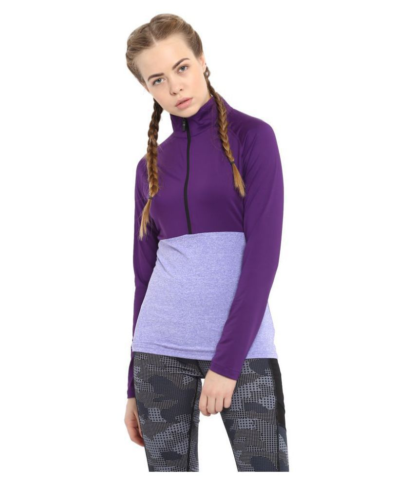 CHKOKKO Sports Gym Running Half Sleeves Zipper Jacket Or Casual Sweatshirts for Women