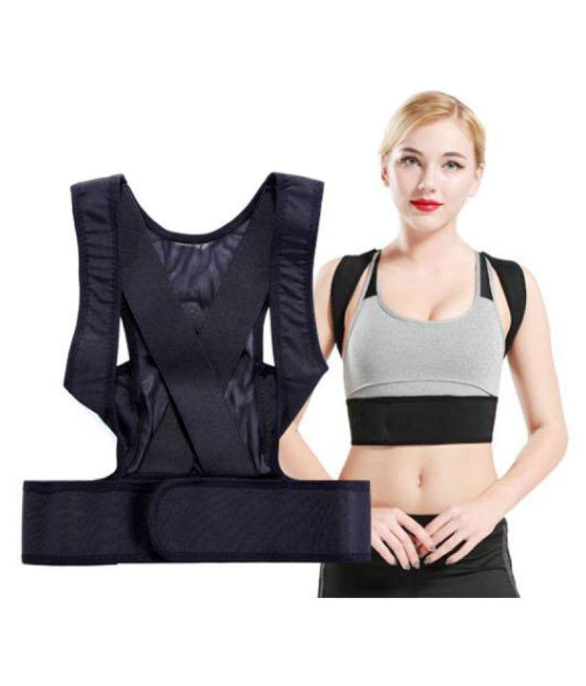 Keshav Online Posture Corrector Clavicle Support Brace XL