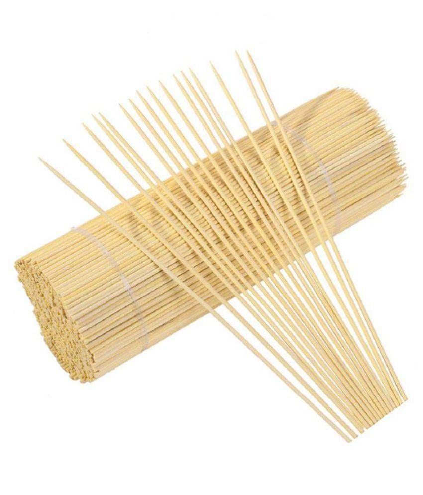 Hardest Balcoa Bamboo Skewers/Kabab/Burger/Barbecue Sticks 12 inch (Pack of 100)