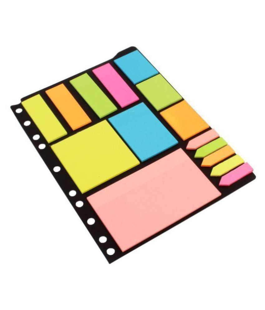 Unicus Sticky Notes & Page Markers Binder Pack, 25 X 19 cm