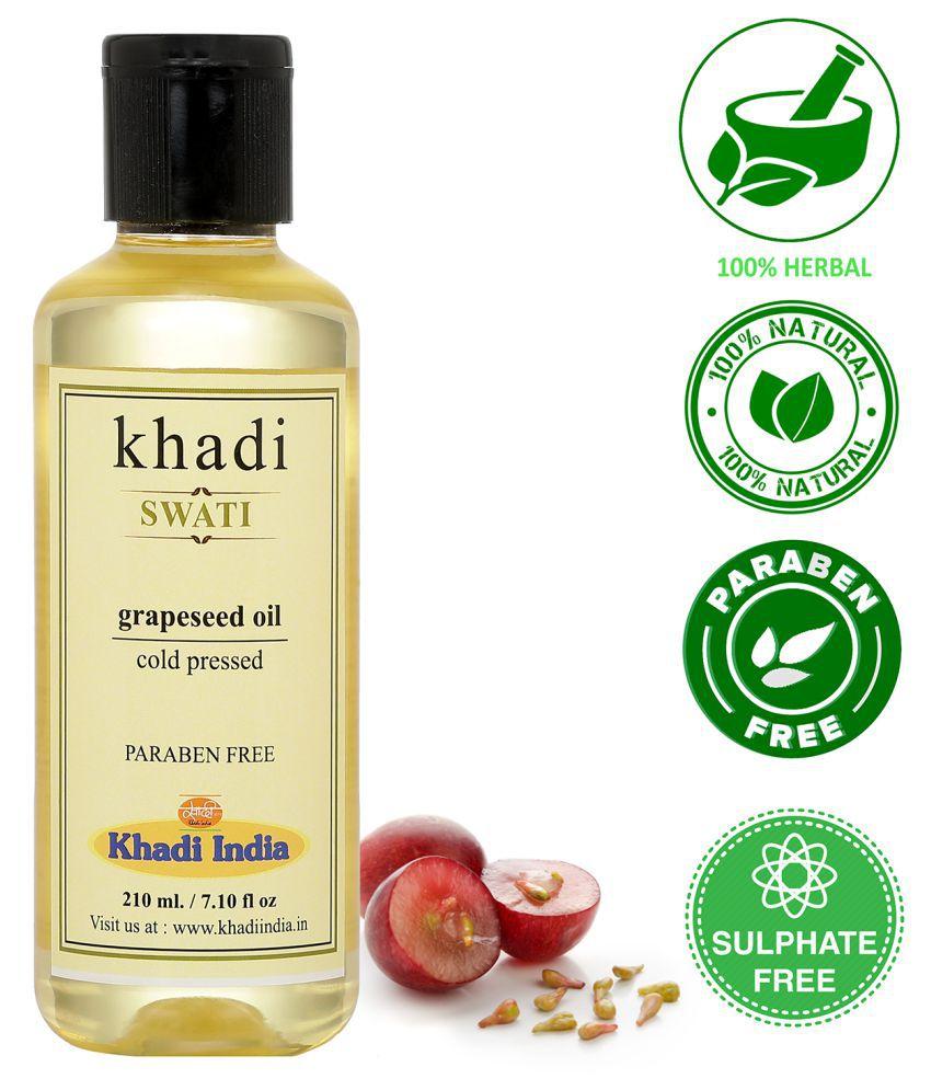 Khadi Swati  Grapseed  Massage Oil