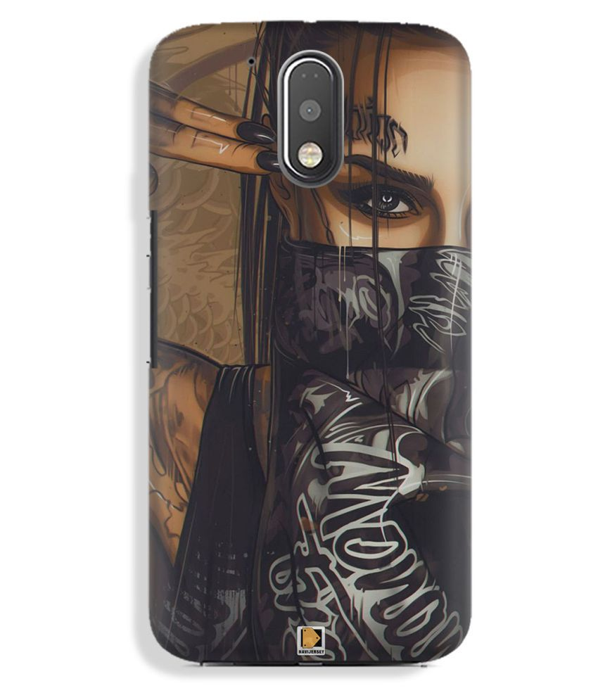 Moto G4 Plus Printed Cover By NAVI JERSEY Premium Look Cases