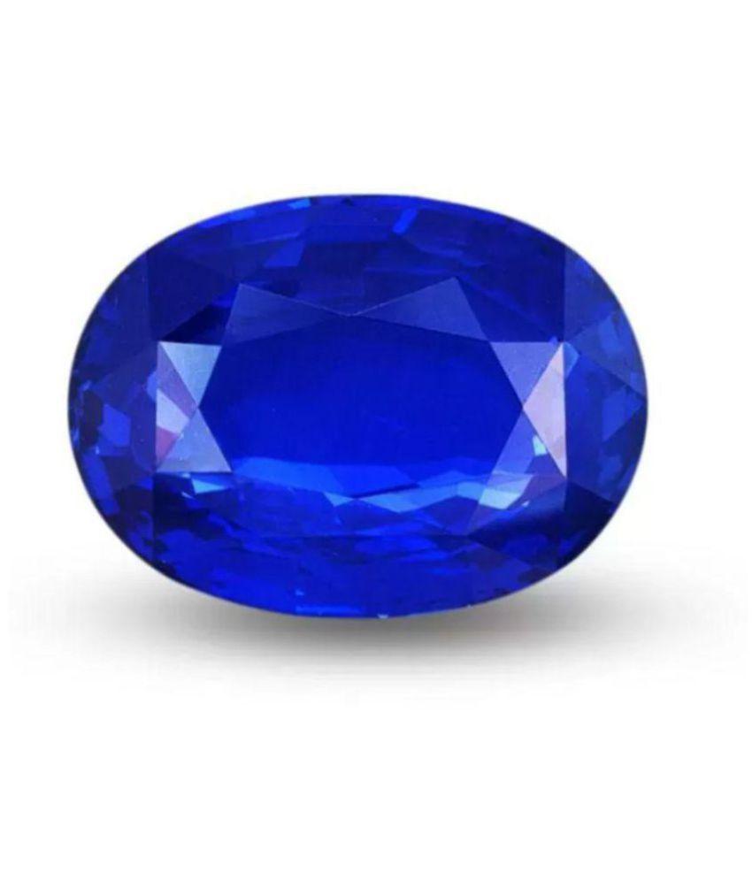 Natural 6.25 Ratti Blue Sapphire (Neelam) Unisex Gemstone