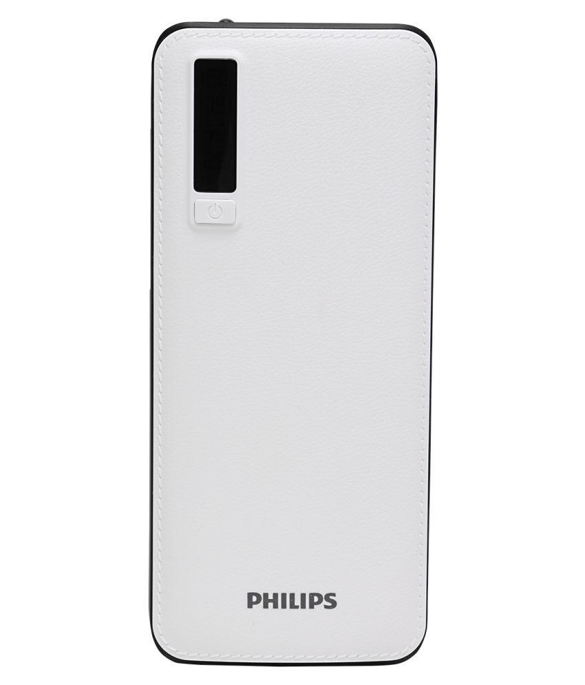 Philips  DLP6006B  11000  mAh Li Ion Power Bank White