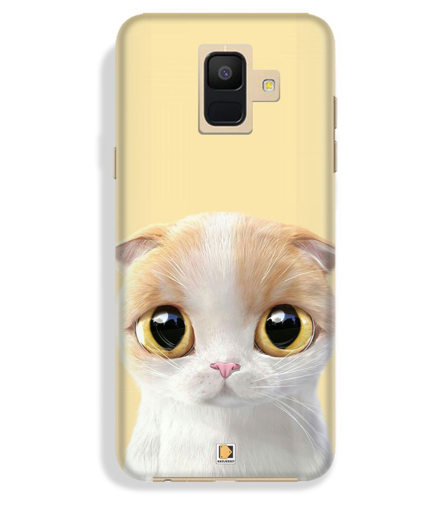 Samsung A6 Printed Cover By NAVI JERSEY Premium Look Cases