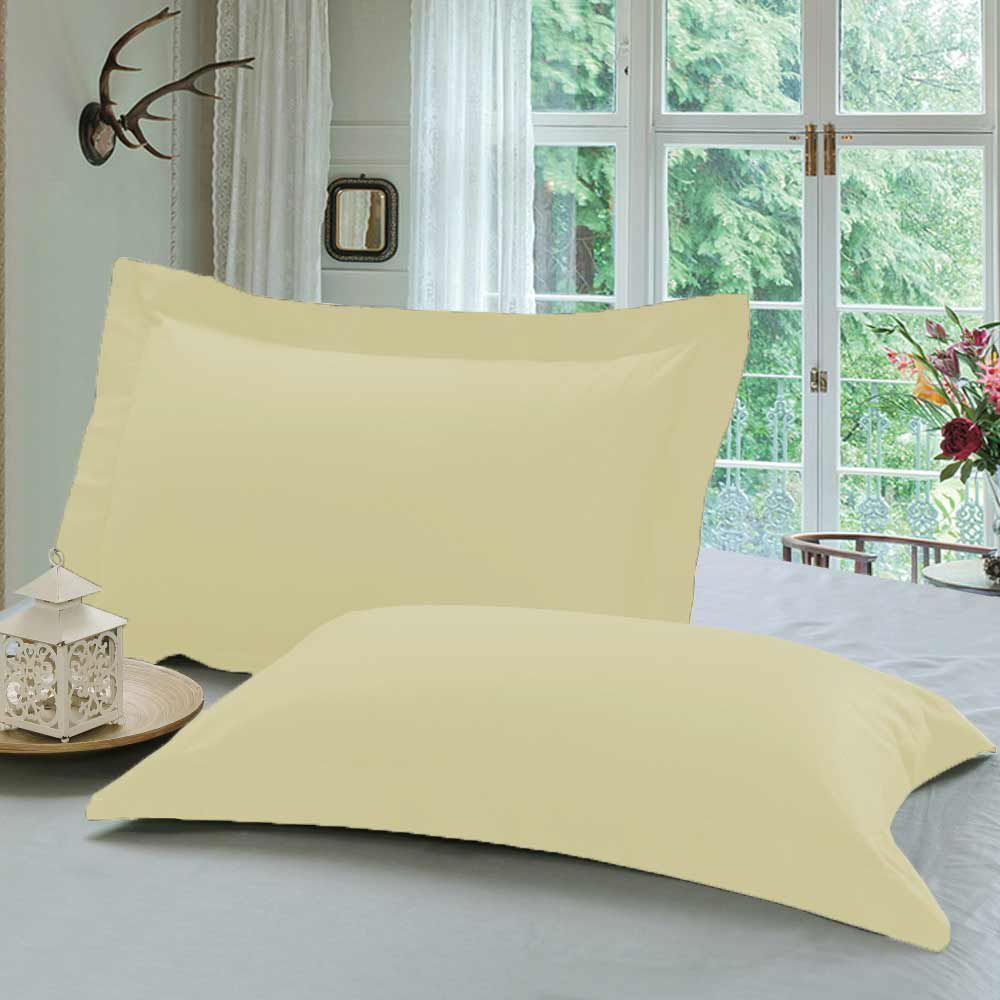 R home Single Beige Pillow Cover