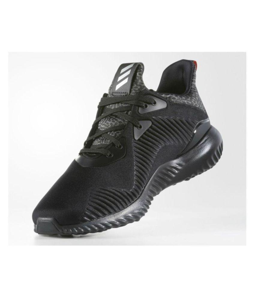 Adidas Alpha Bounce Black Running Shoes