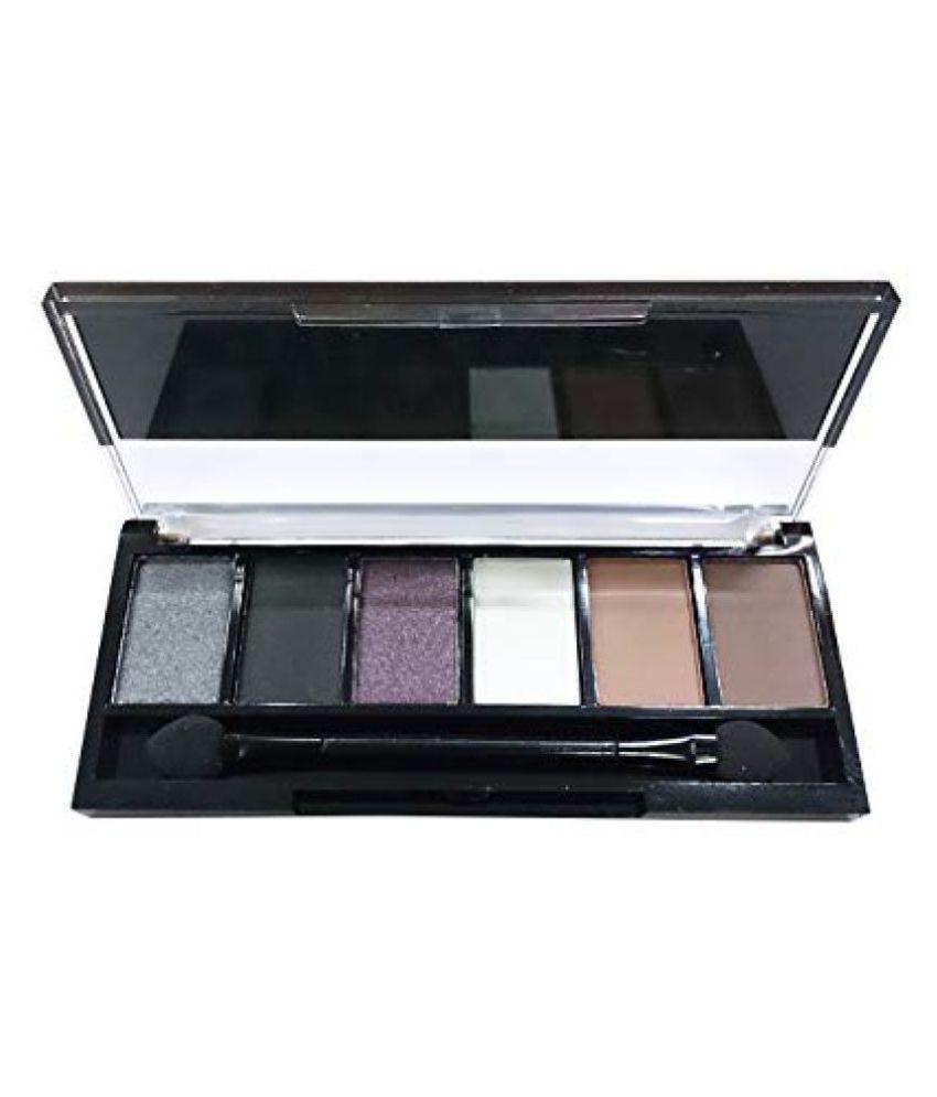 Sivanna 6 in 1 Smoky Eye Palette Pressed Powder Colours 7 gm